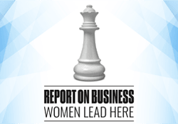 Report on Business Women Lead Here