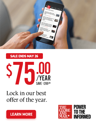 Lock in our best offer of the year, just $75 a year
