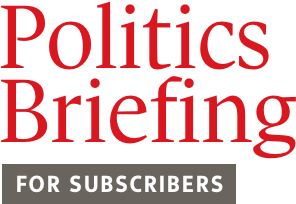 Politics Briefing