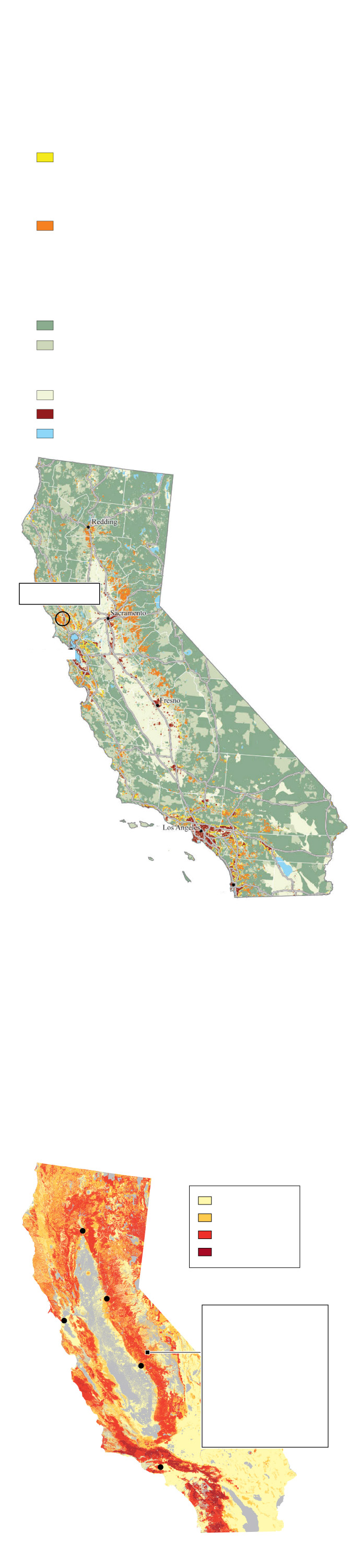 In wildfire prone B C and California urban sprawl and bad planning