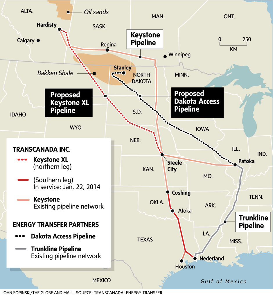Economic Insight With Keystone In Play Oil May Be Spared From Any U S Canada Trade Spat