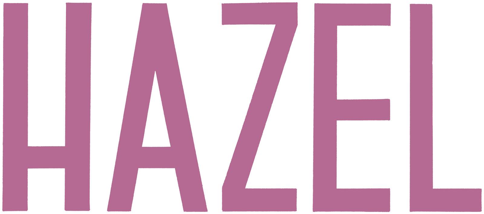 Hazel by Seth title