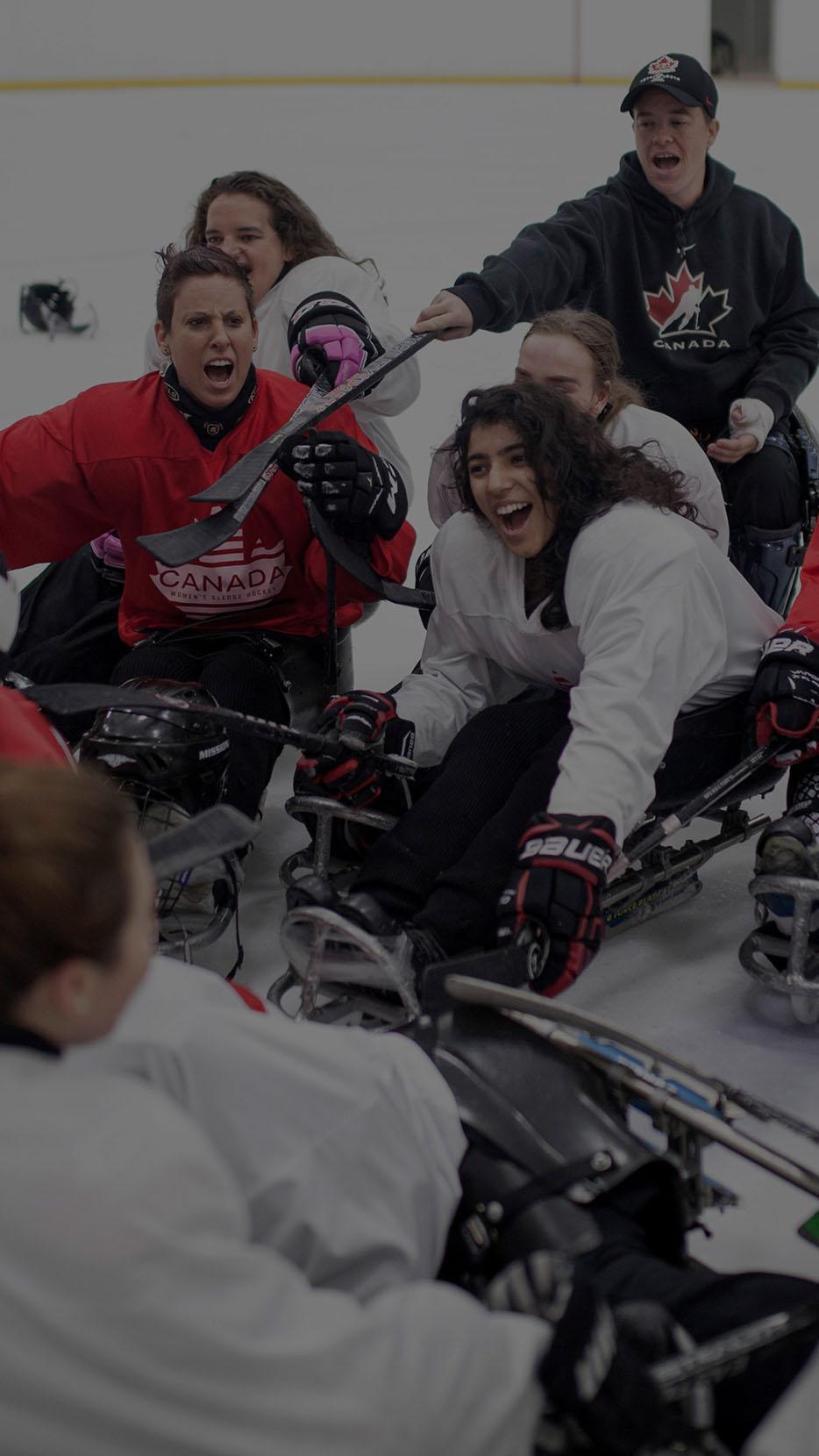Canadian national women's sledge hockey team