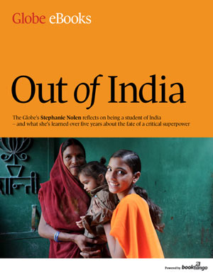 Out of India - e-book cover