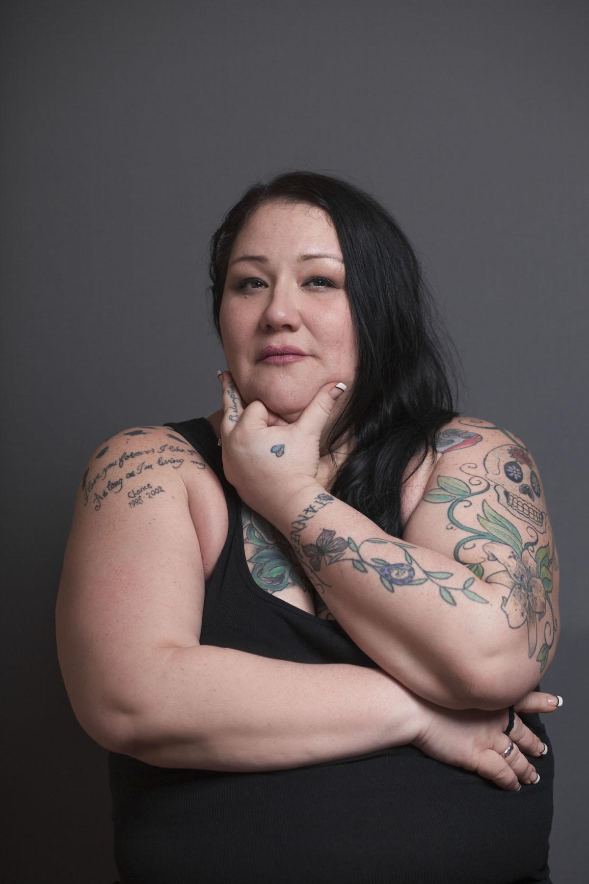 Fat tattoos girls naked