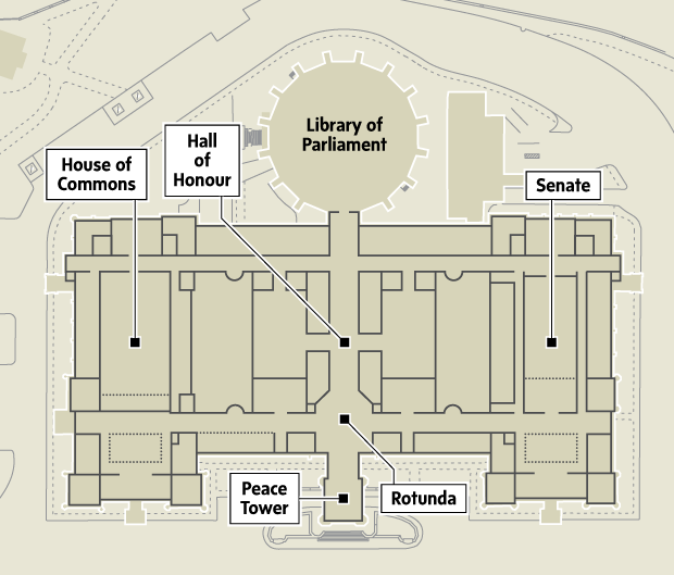 A Timeline Of The Attack On Ottawa