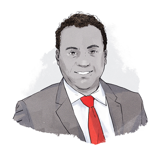 Illustration of Cyrus Reporter