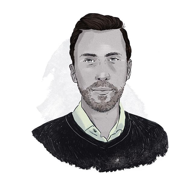 Illustration of Dan Arnold