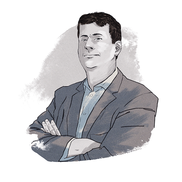 Illustration of Jeremy Broadhurst