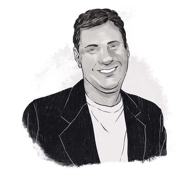 Illustration of John Zerucelli