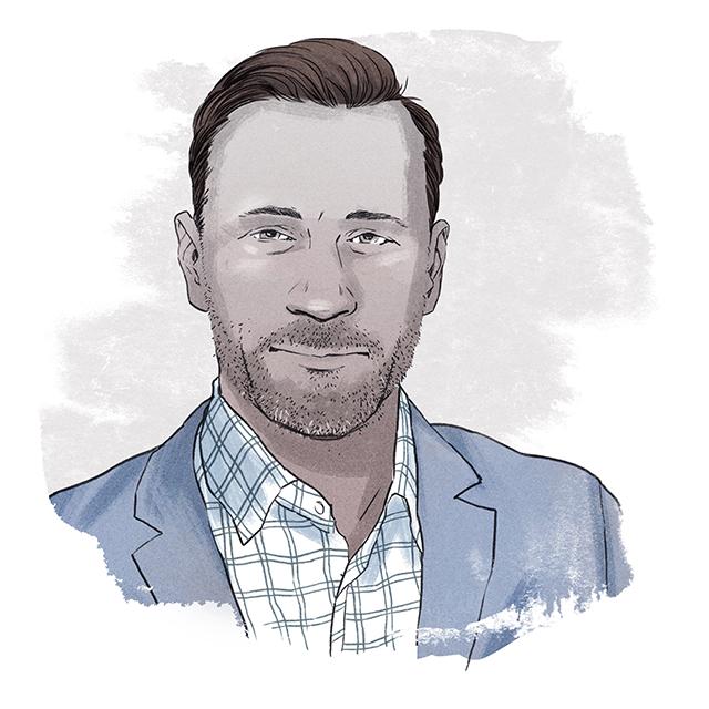 Illustration of Mathieu Bouchard