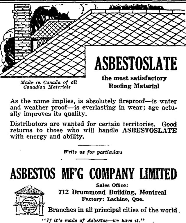 No safe use: The Canadian asbestos epidemic that Ottawa is