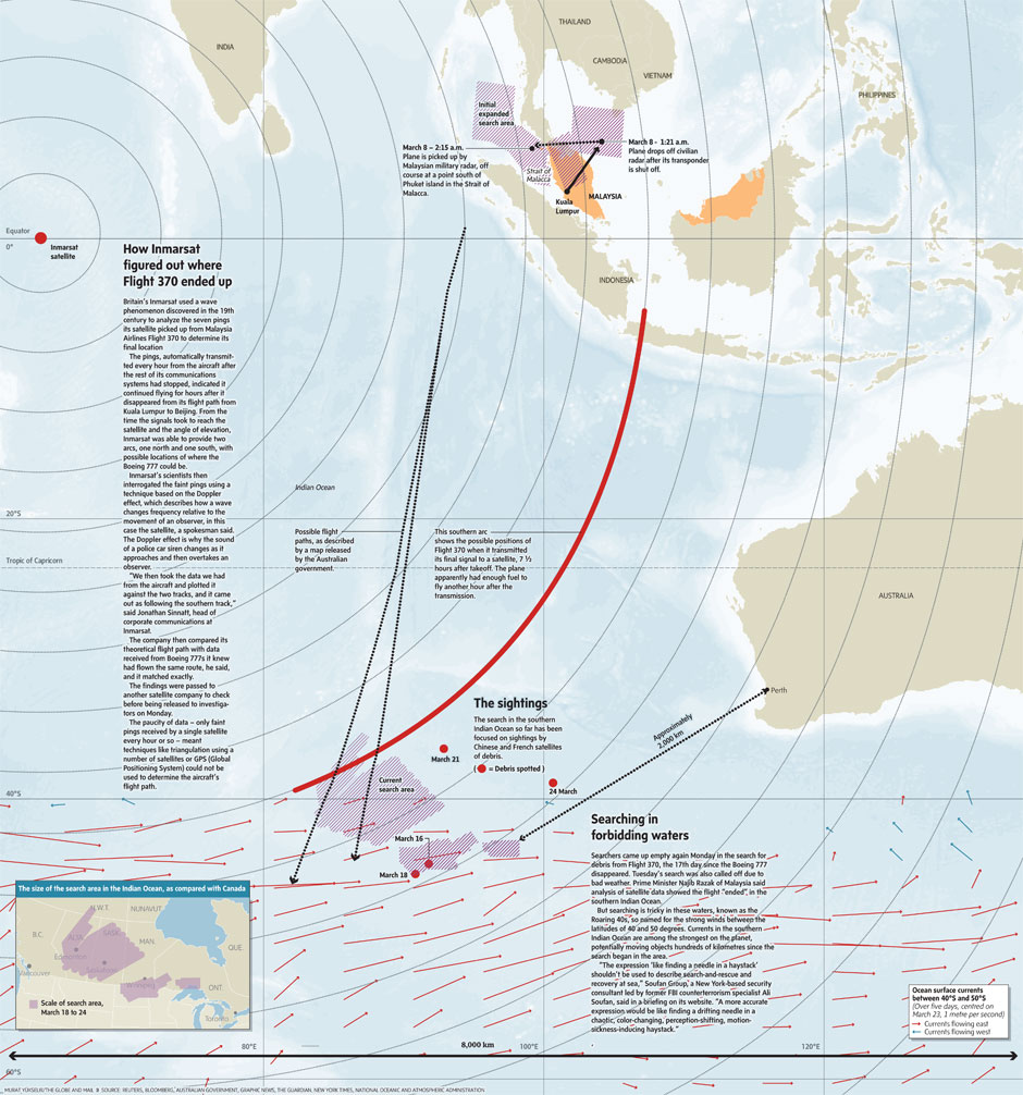 Why the search for Flight 370 was so difficult