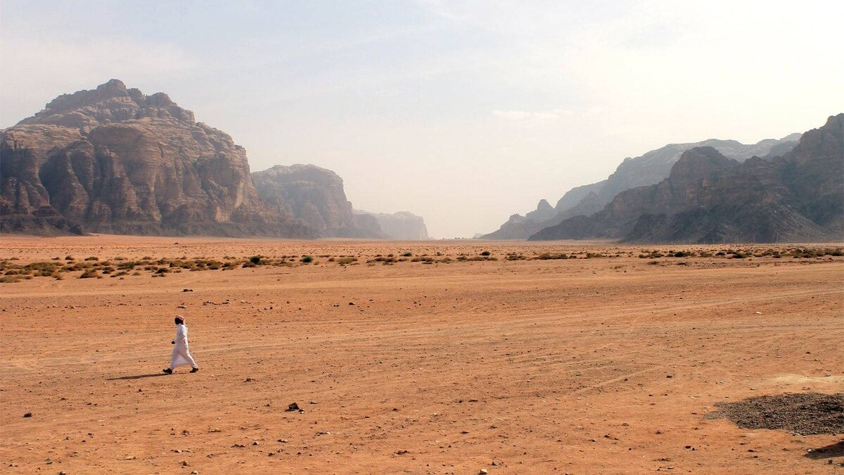 Rick Lash, Toronto: Wadi Rum, Jordan - an ancient desert made famous as the location for the film Lawrence of Arabia. The lone Bedouin brings into contrast the vast empty space and towering 1,000-foot cliffs that makes this place so incredible.