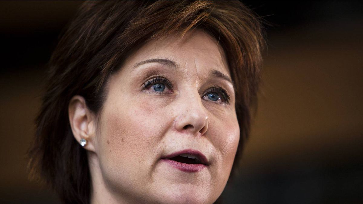 BC Liberal Leader Christy Clark.