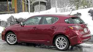 2011 Lexus CT200h Credit: Ted Laturnus for the Globe and Mail