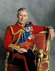 Prince Charles poses for a portrait to mark his 60th birthday, celebrated Nov. 14, 2008.