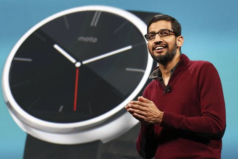 Google takes aim at Apple with new gadgets launch