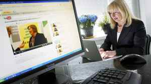 Barbara Jaworski, CEO of the Workplace Institute, is fully immersed in social media: 'It's really driving my learning.'