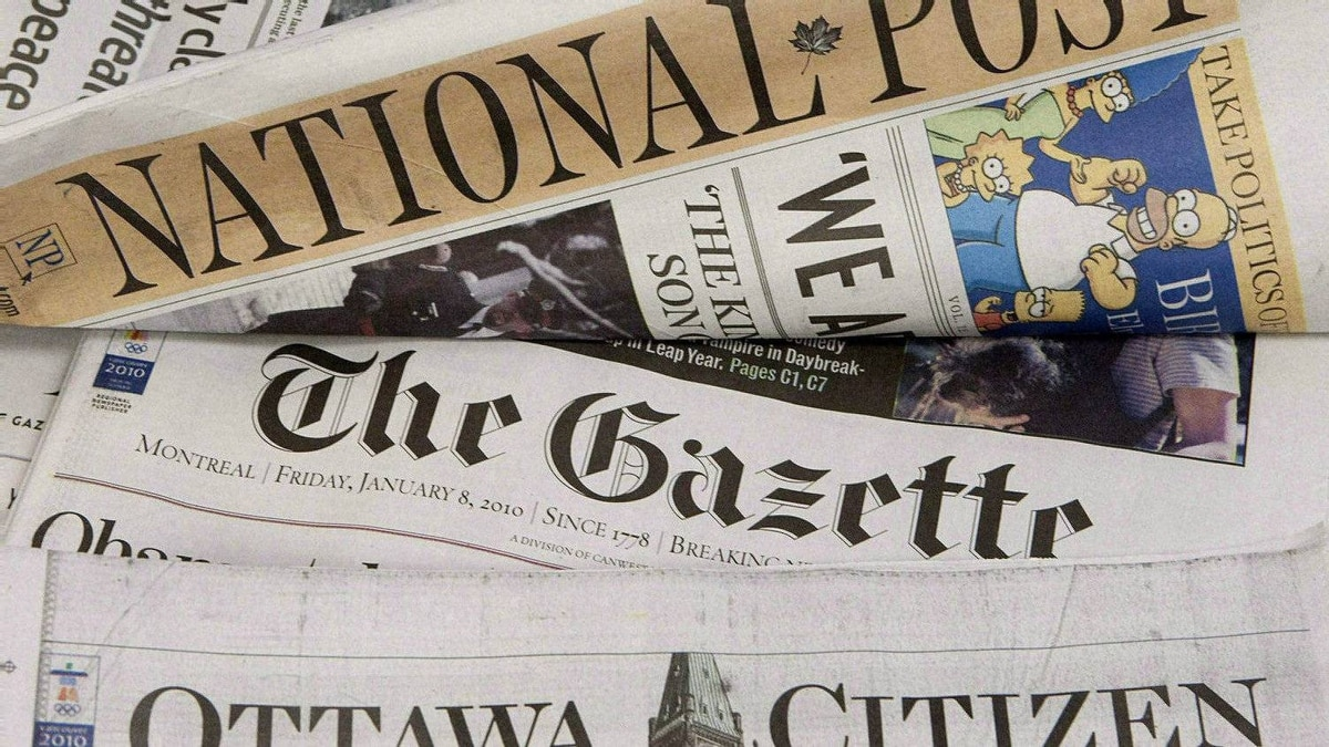 Postmedia Network Inc. will cut 25 jobs at the Postmedia News division, which provides stories to its chain of daily papers, including the Ottawa Citizen, Vancouver Sun and the National Post, as well as company websites.