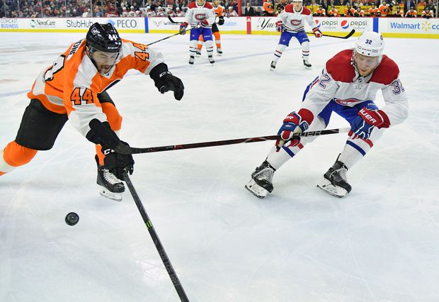 Canadiens beat fading Flyers 3-1, Brendan Gallagher scores 31st goal to start