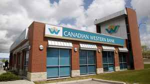 A Canadian Western Bank branch in Calgary.