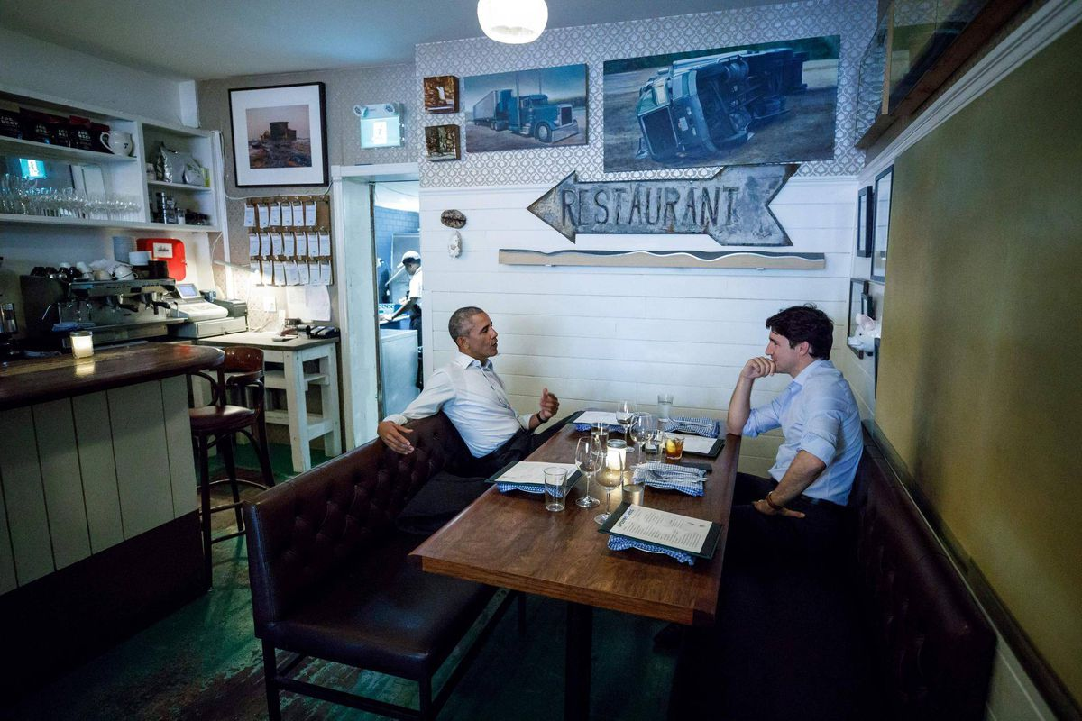 Trudeau, Obama visit a \'career highlight\' for Montreal restaurant ...