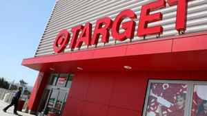 A customer walks into a Target store May 20, 2009 in San Bruno, California.