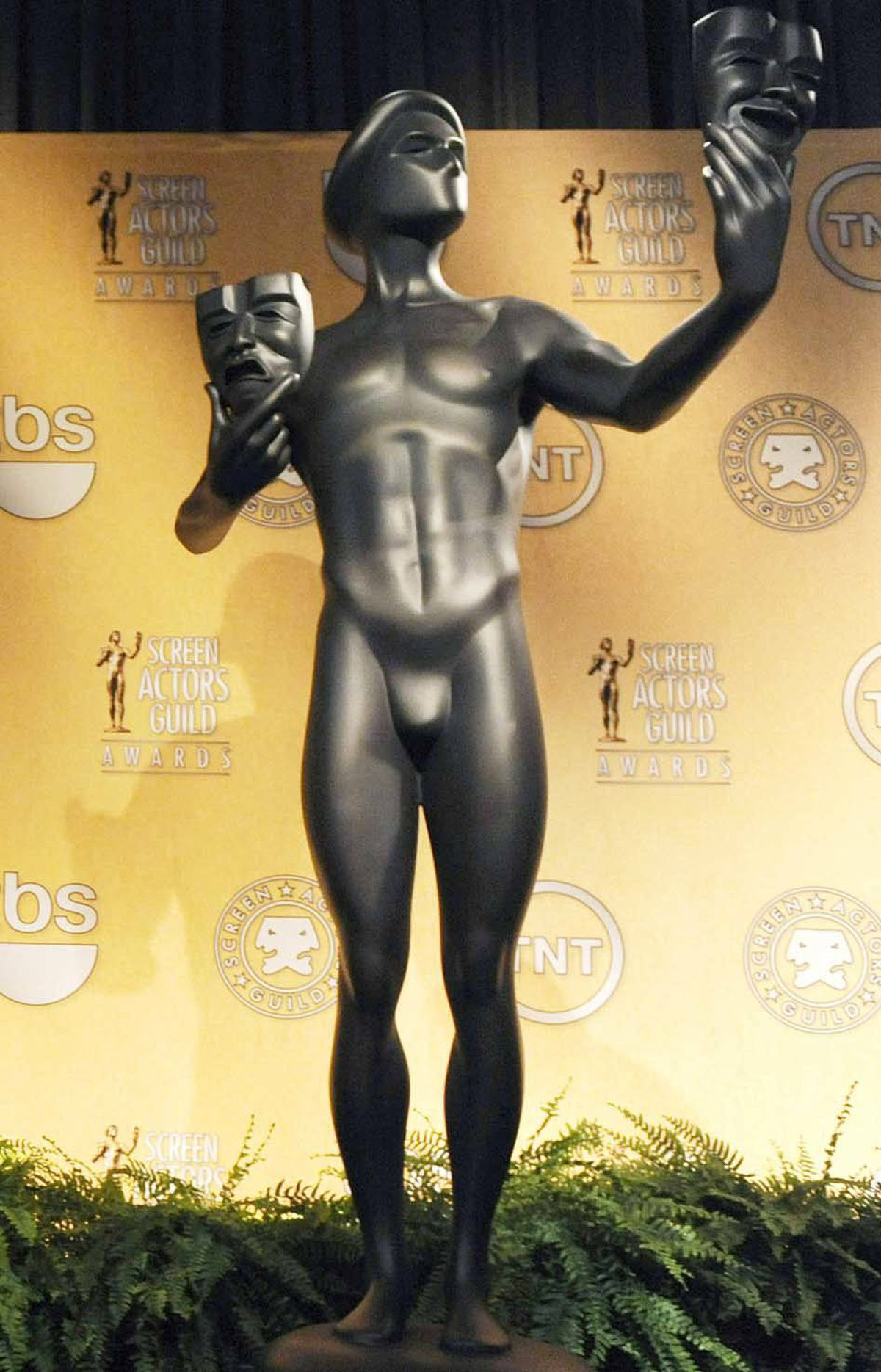 """Yes, well, maybe you need to grow a pair,"" the SAG statuette replies."