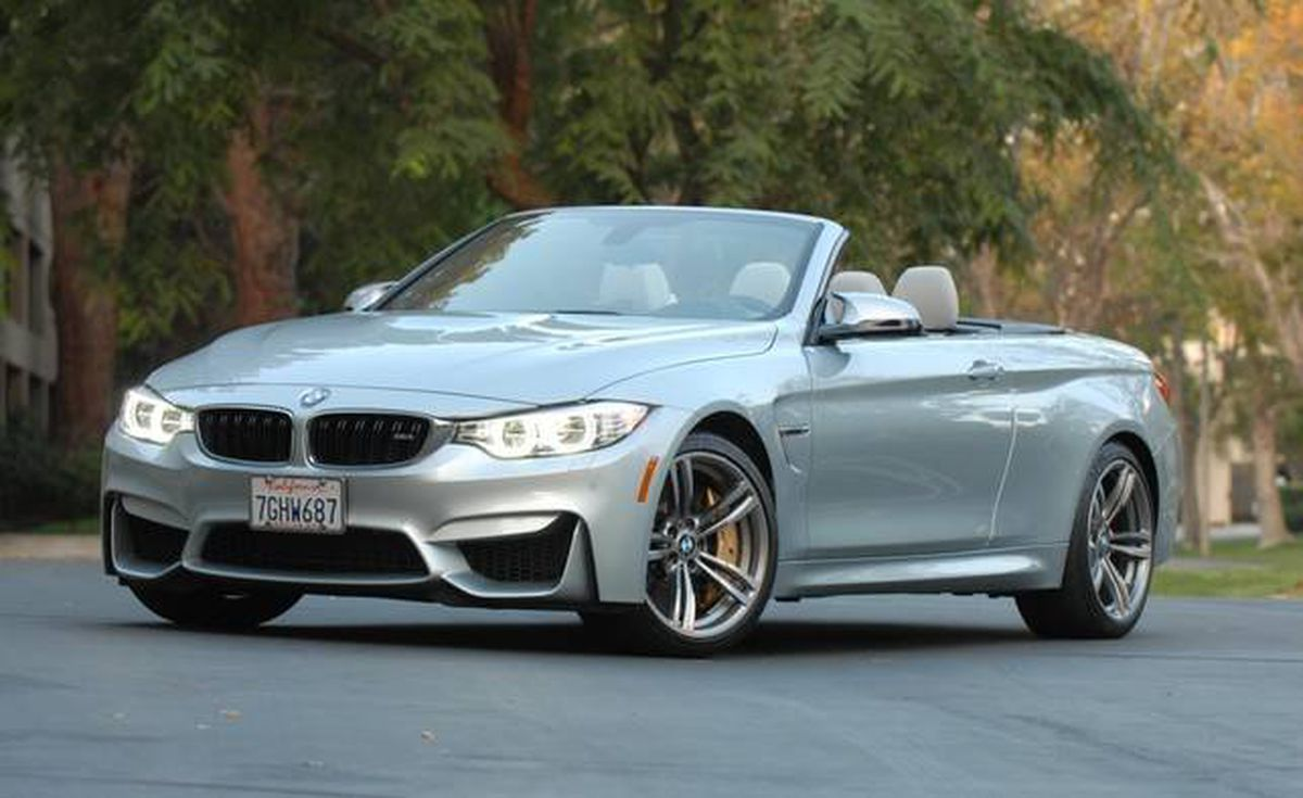In Photos 2015 Bmw M4 Cabriolet Inside And Out The
