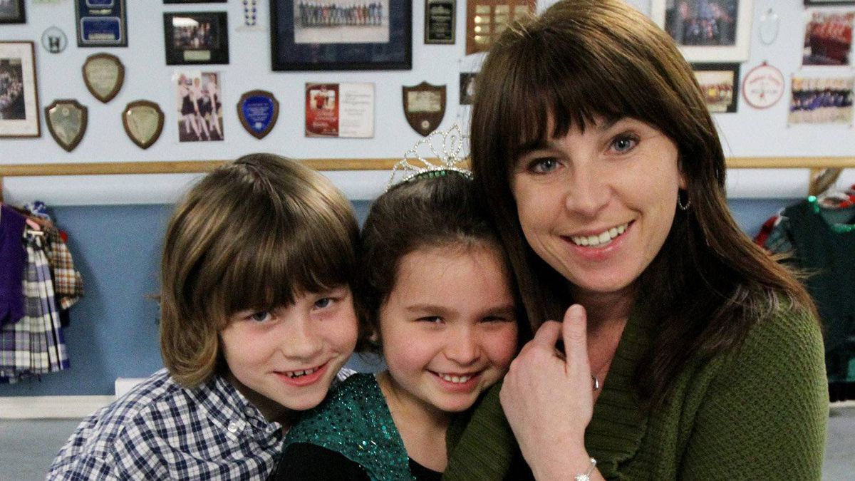 Ann Solomon with her daughter Ella,6, and son Aidan, 9, pose for a photo on Wednesday February 1,2011, in Orleans, Ont. Couples with just one or two have become the norm in Canada, par of a trend of steadily dwindling family size that has been going on since the early 1960s.