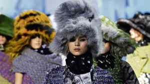 The Marc Jacobs Fall 2012 collection is modeled during Fashion Week, Monday, Feb. 13, 2012, in New York.