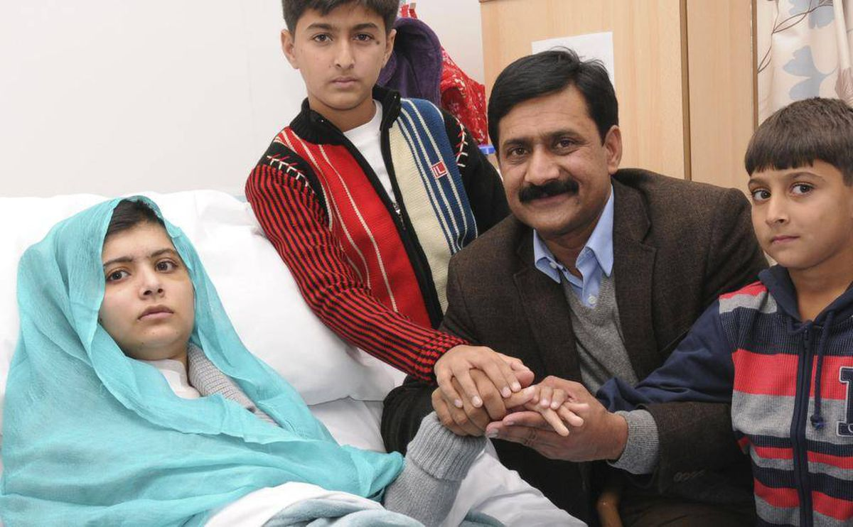 Malala Yousafzai gets reunited with her family, and her