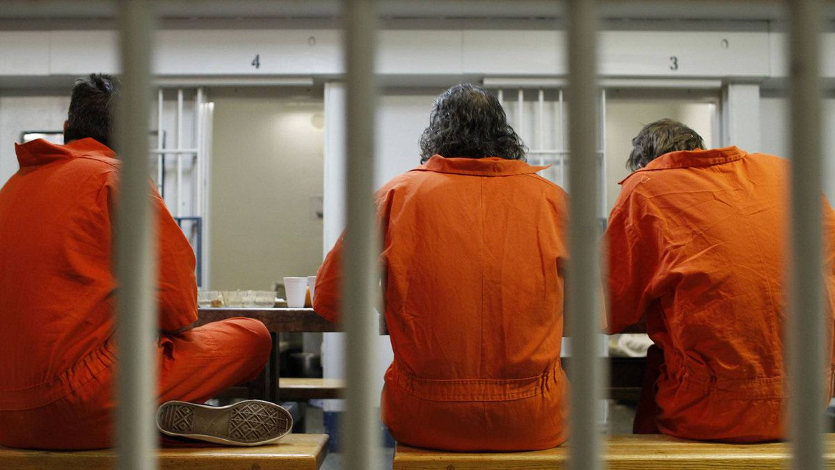 Images inside the Toronto Jail on Feb. 24, 2011.