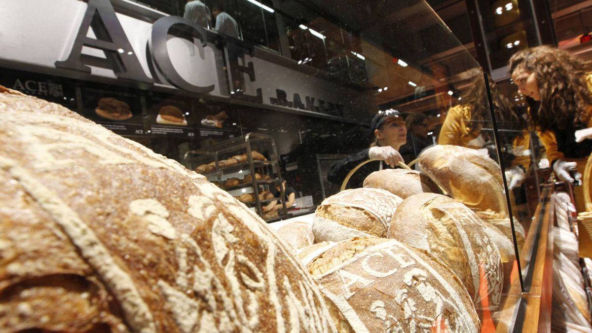 Ace Bakery entices shoppers with the smell of artisan-style breads inside Loblaw's new Maple Leaf Gardens location. The store borrows a leaf from Whole Foods Market, although at generally more affordable prices.