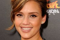 """Actress Jessica Alba arrives at """"Spy Kids: All The Time In The World 4D"""" Los Angeles premiere at the Regal Cinemas L.A. Live on July 31, 2011 in Los Angeles, California."""