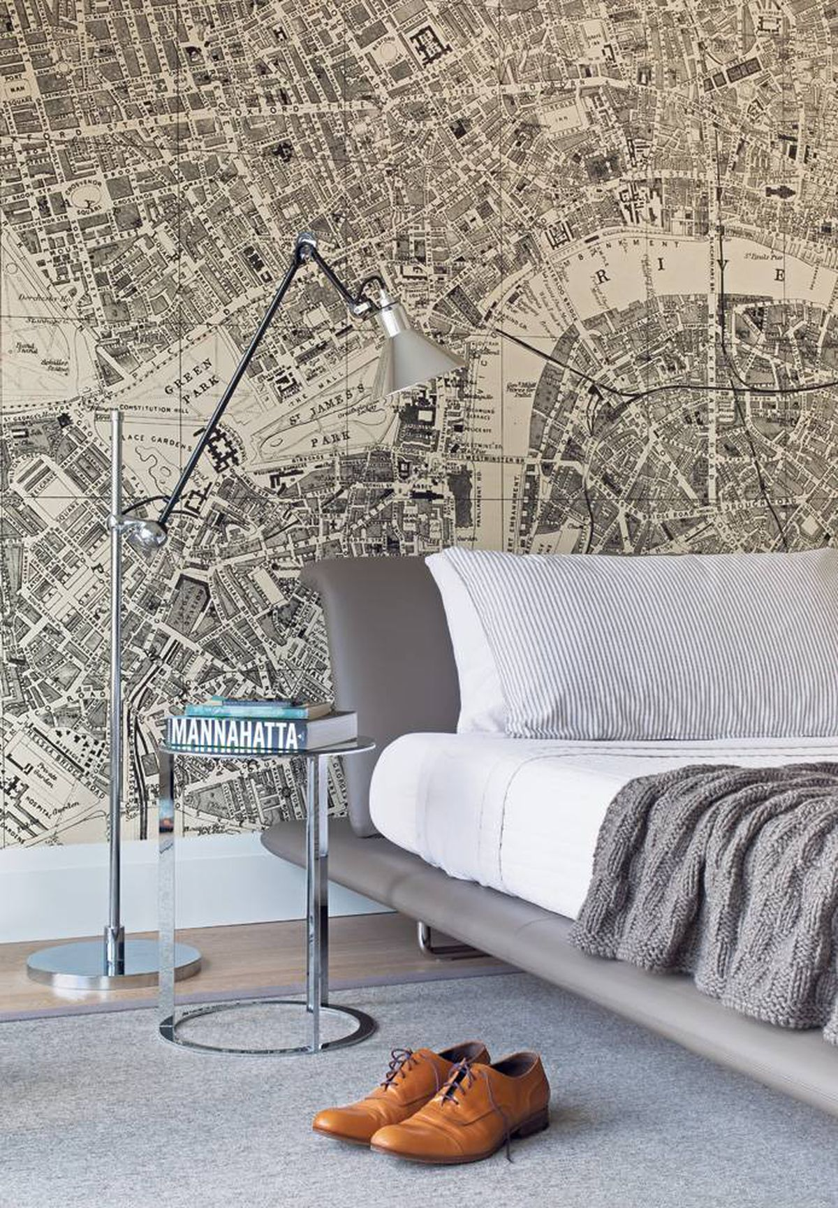 An Inside Look At Thoroughly Modern Masculine Decor The