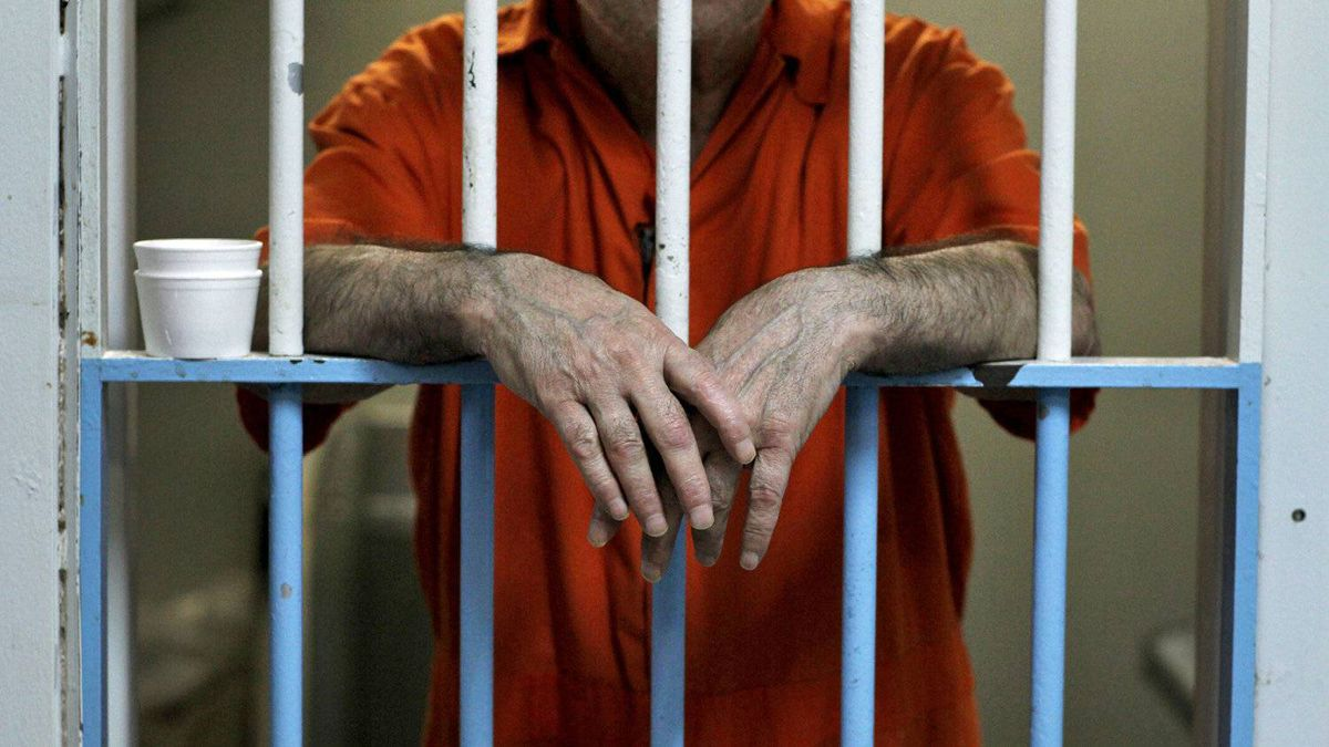 A Toronto inmate bides his time on Feb. 24, 2011.