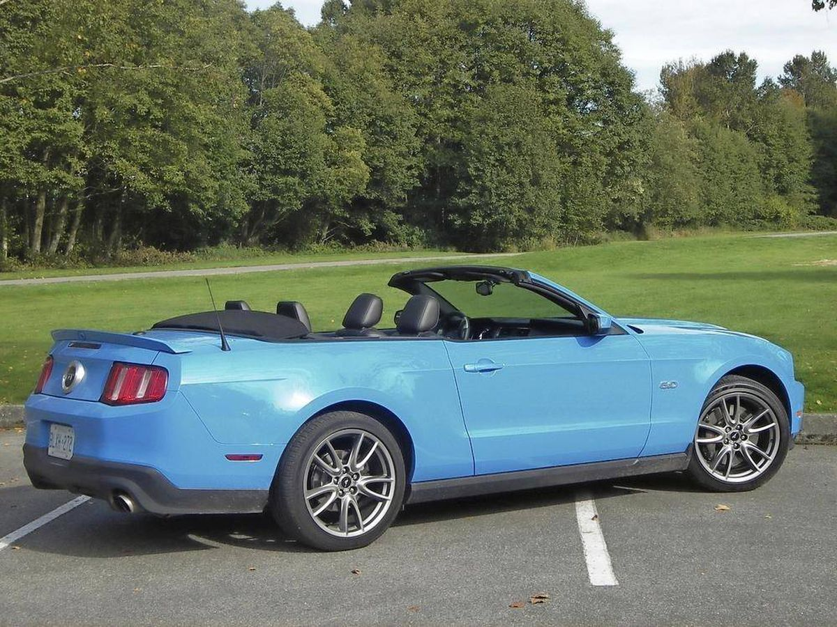 I want a convertible muscle car, but can't afford a new Mustang