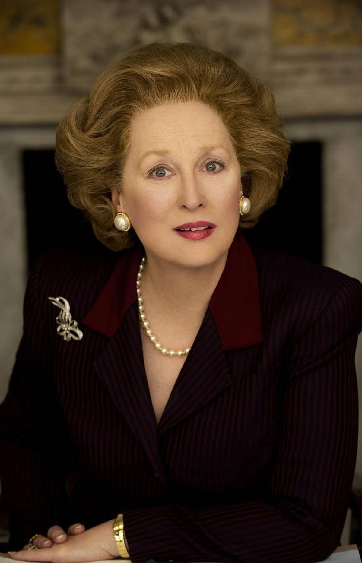 """Meryl Streep is nominated for """"The Iron Lady."""""""