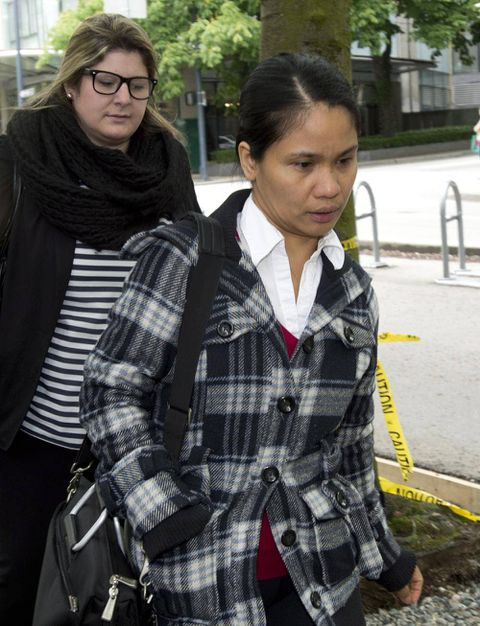 Phone statements discredit nanny's word, couple's lawyer tells court