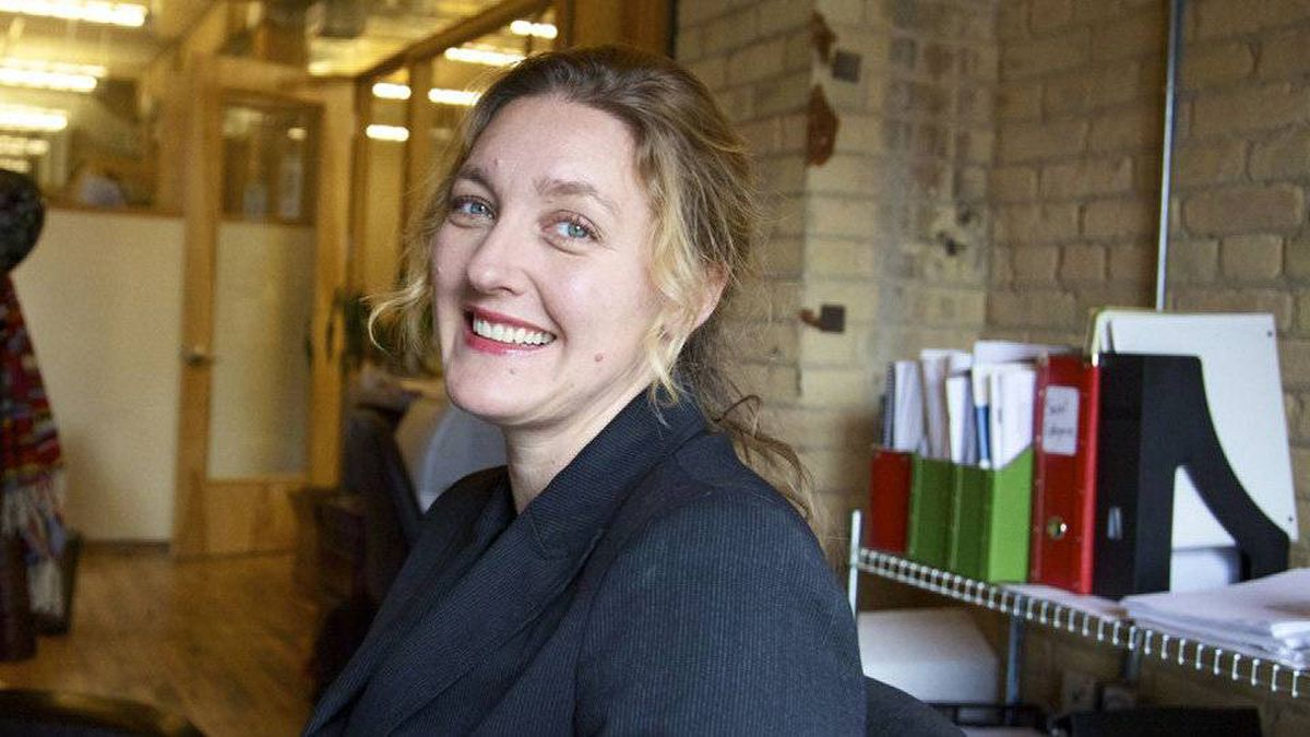 Tonya Surman, executive director of the Centre for Social Innovation