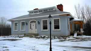 Prince Edward County home of Shannon Kyles. Front exterior.
