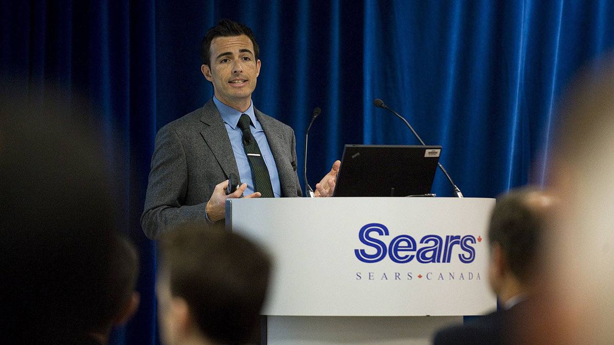 'It's a balance between not penalizing customers but not paying for abuse,' Sears Canada CEO Calvin McDonald said of the company's new return policy.