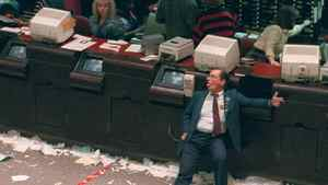 An exhausted trader slumps in his chair at the Toronto Stock Exchange in this Oct. 19, 1987, known as Black Monday.