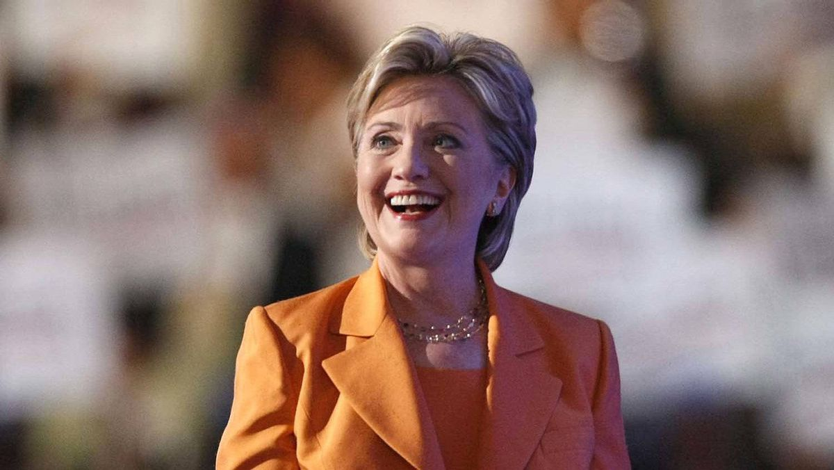 She stuck with the style during her run at the Democratic presidential nomination in 2008.