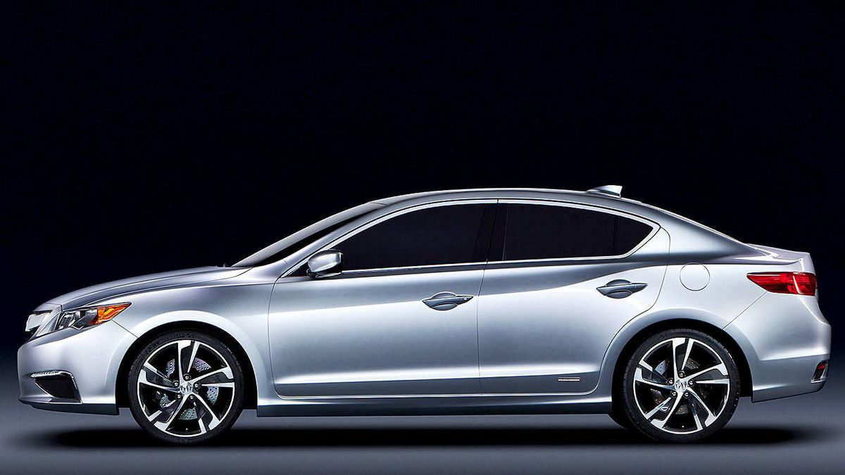 Acura ILX Concept is the precursor to an all-new Acura luxury compact sedan scheduled for launch in Canada in spring 2012.