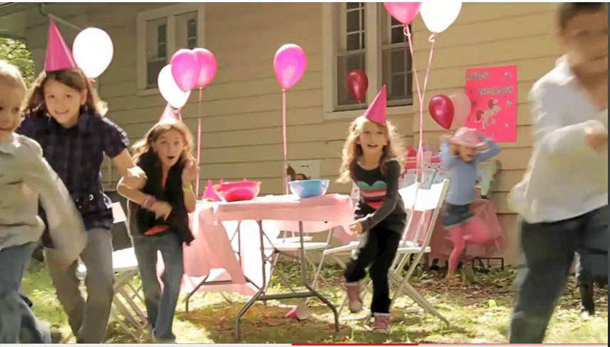 A still from from Pink Pony