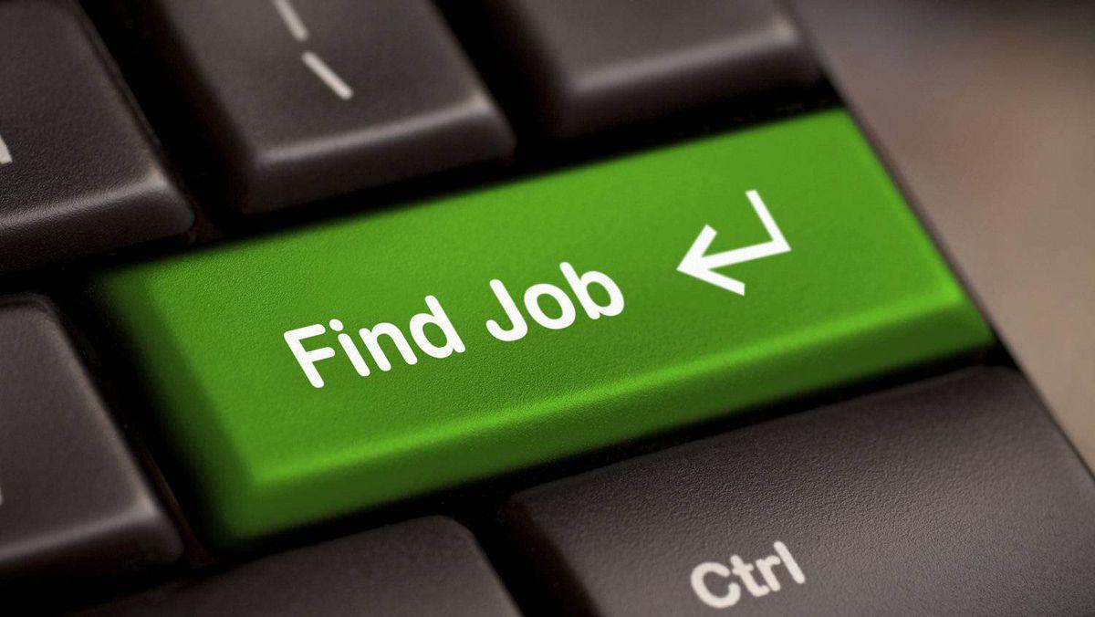 green find job enter button