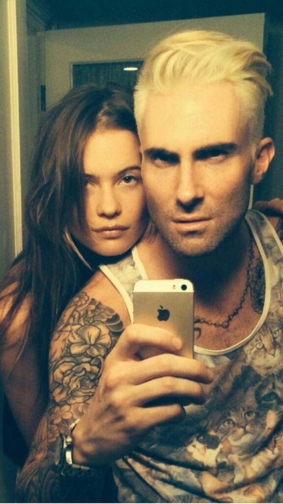 Now Trending Adam Levine Shocks Fans With New Platinum Blonde